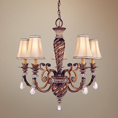 "Minka Aston Court 28 1/4"" Wide 5-Light Chandelier - #11826 | LampsPlus.com"
