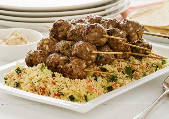 Koftas with Fattoush Salad