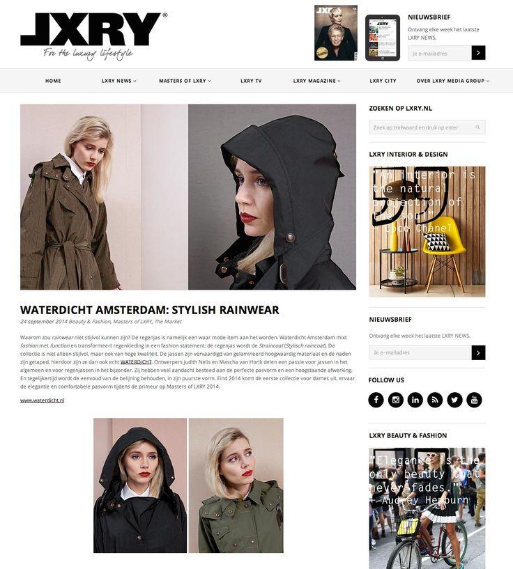 WATERDICHT Amsterdam - LXRY FAIR 1 december 2014
