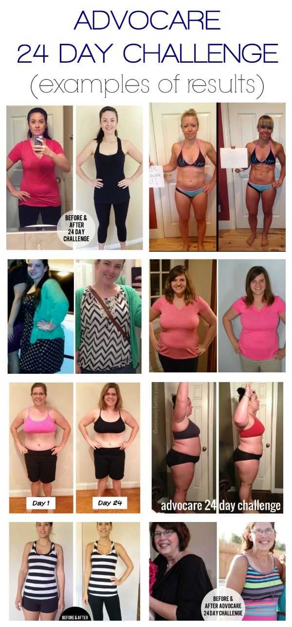 More Advocare 24 Day Challenge Results | A Merry Life