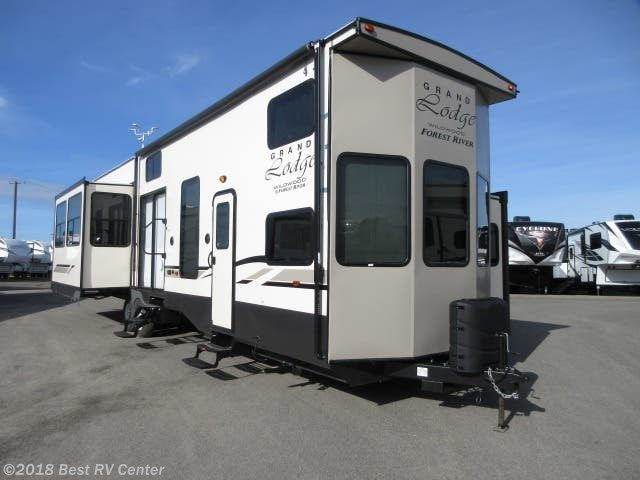 2019 Forest River Rv Wildwood Grand Lodge 42dl Gelcoat Exterior