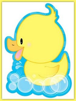Rubber Duckie Baby Shower Invitations.
