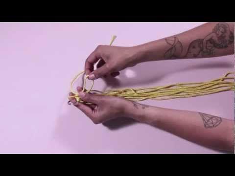 Para DIY For - ¿Cómo hacer una agarradera macramé