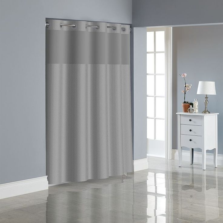 The 25 Best Hookless Shower Curtain Ideas On Pinterest Hotel Shower Curtain Navy Blue Shower