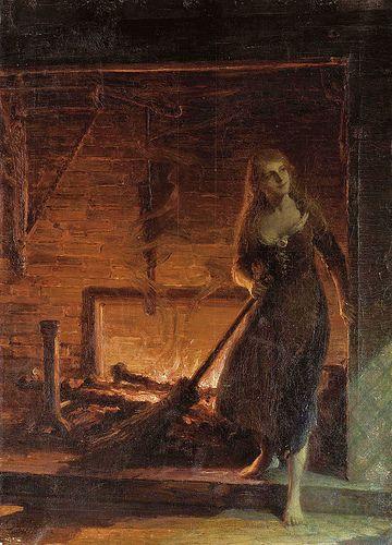 Talbot Hughes (British, 1869-1942), Cinderella
