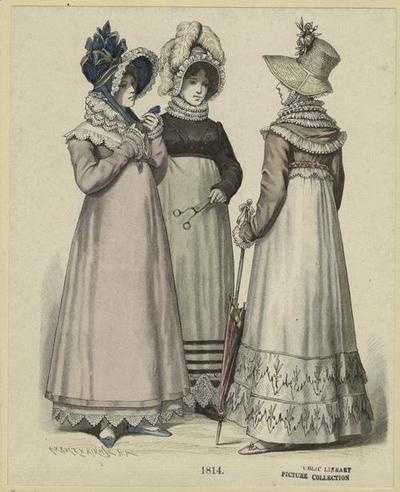 German women from the 1820s through the 1930s...?