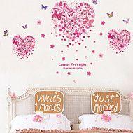 τοίχο+αυτοκόλλητα+αυτοκόλλητα+τοίχου,+αγάπη+πεταλούδες+αυτοκόλλητα+PVC+τοίχο+–+EUR+€+9.63
