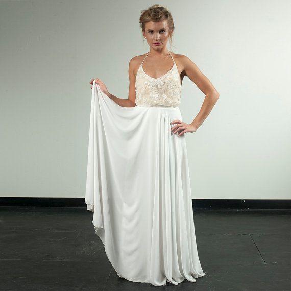 Hollywood wedding dress Custom made blouson by MotilFineDesign