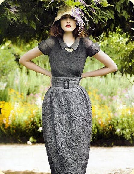 A Walk In The Garden. Classic style.