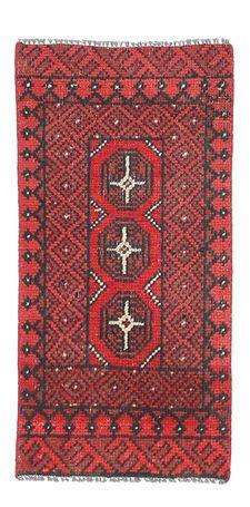 Afghan-matto 45x89