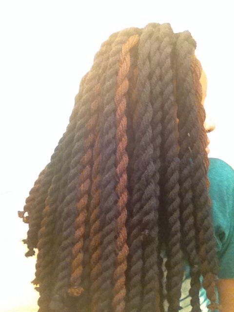 Crochet Braids Yarn Twists : Just a side view #Yarn #Havana #Jumbo #Natural #Protective #Crochet # ...