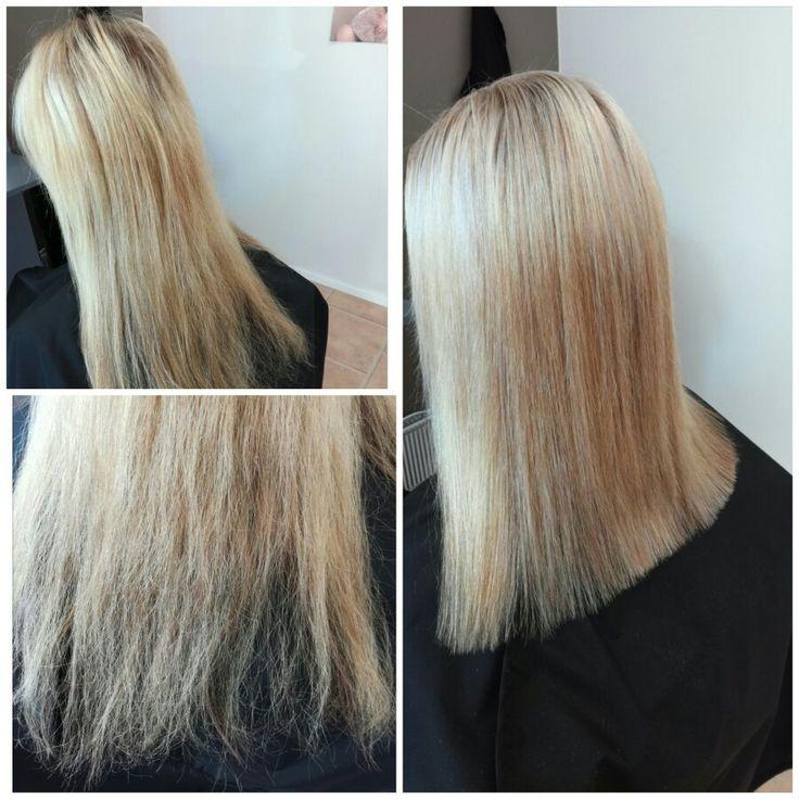 #highlights #blond #blonde #olaplex