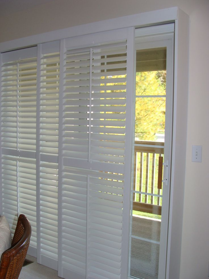 1000 Ideas About Sliding Door Shades On Pinterest Patio