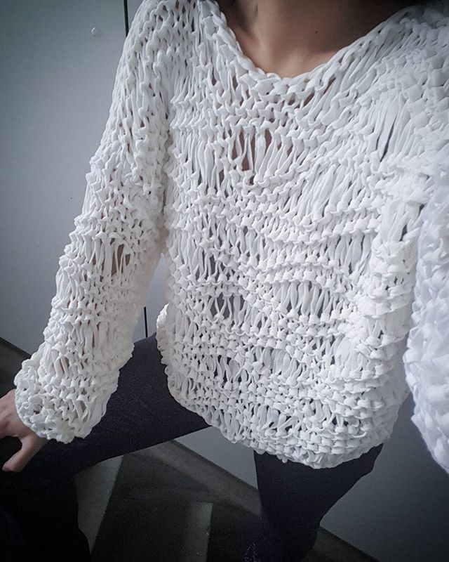WEBSTA @ kirobykim - New season...New pattern..#kirobykim #cottonsweater
