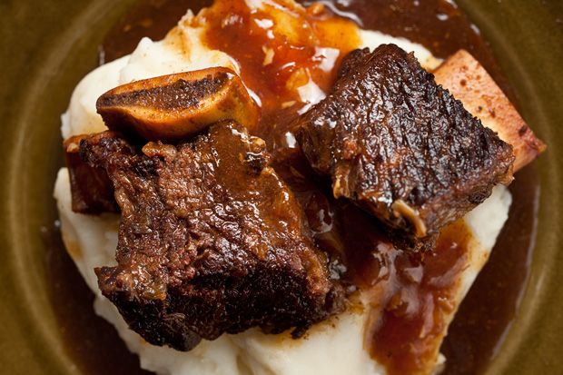 Pressure Cooker Cola-Braised Beef Short Ribs...and with my new electric pressure cooker, this is going to be a delight !