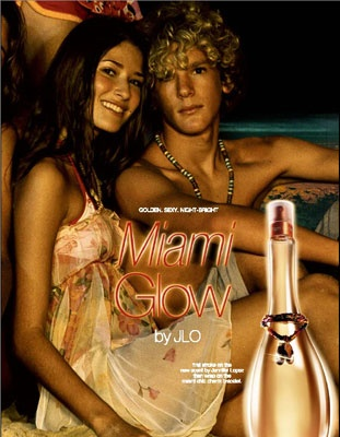J-Lo Miami Glow Perfume.....not sure this exists anymore so I'm using up my saved tester bottle.  Sob