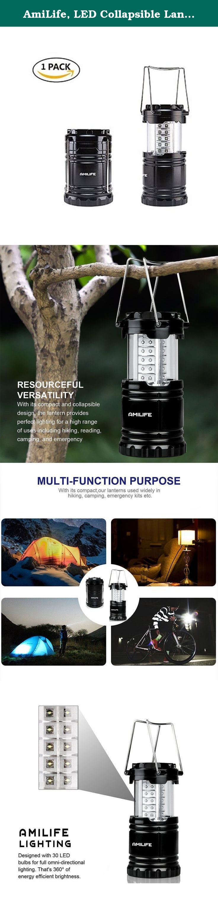 amilife led collapsible lantern flashlight lamp suitable for all outdoors activities camping