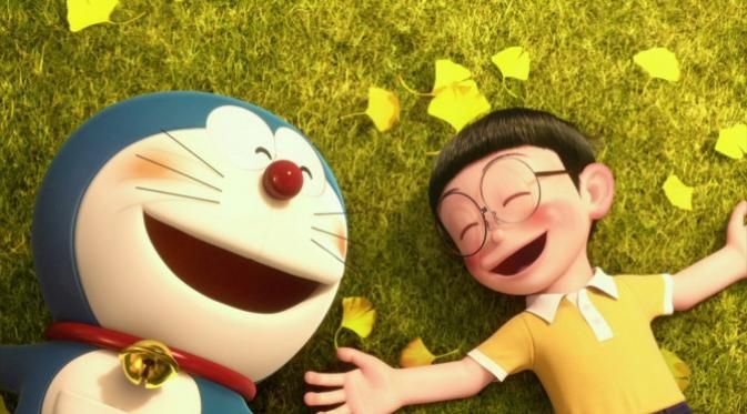 Tahun 2014 lalu, film 'Stand by Me' Doraeman sukses menduduki puncak box office beberapa negara. Kini Nobita dan Doraemon hadir lagi di dua film terbarunya berjudul 'Doraemon: Nobita's Space Heroes' dan 'Doraemon: Nobita and the Birth of Japan 2016'.  #Film #Doraemon #Nobita #Bintang #Indonesia