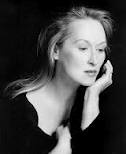 Meryl Streep is a rare actress. When you watch her, she is her character to the bone. Even in light fare like The Devil Wears Prada. She does not spout her political beliefs. She has been married to the same man forever. She has made middle-aged women proud. She doesn't puff her lips or stretch her face. She is beautiful and I think her beauty comes from the inside out.