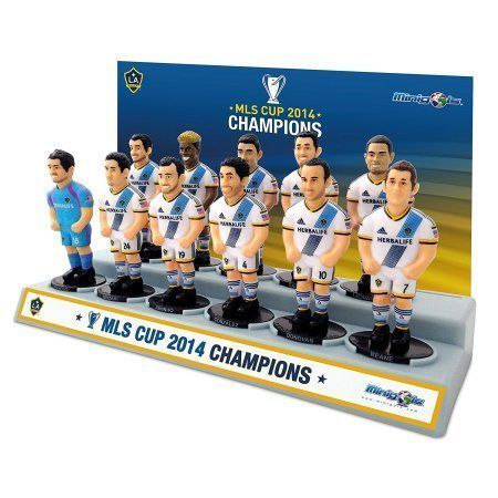 Los Angeles Galaxy 11 Pack 2014 MLS Cup Championship Team, Multicolor