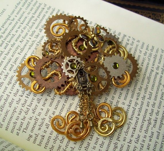 44 Best Jewelry Sp Images On Pinterest Steampunk Gears