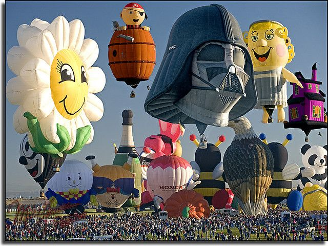 Albuquerque, NM ((Hot Air Balloon Festival*))I've always wanted to go