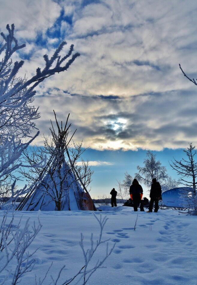 Safari aventura en Kemi en Laponia de Finlandia