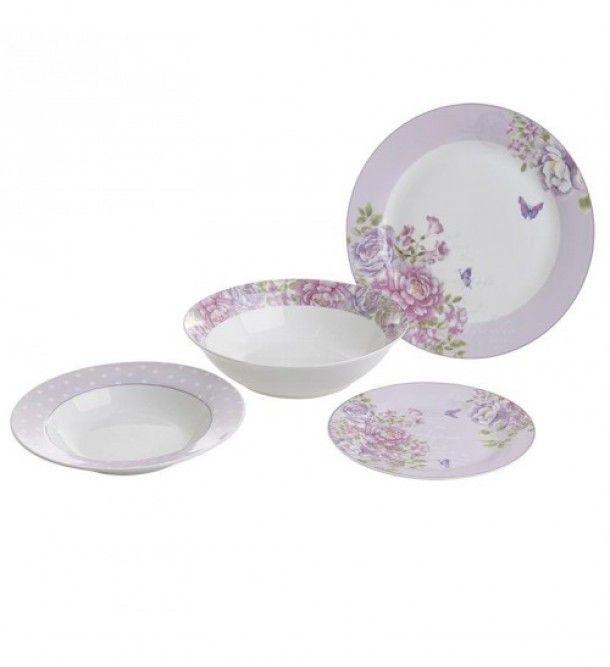 Σερβίτσιο Πιάτων Πορσελάνης 20τμχ inart 3-60-737-0001