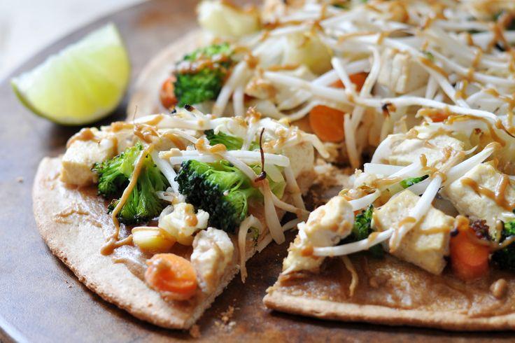 Pad Thai Pizza Vegan Gluten-Free 2