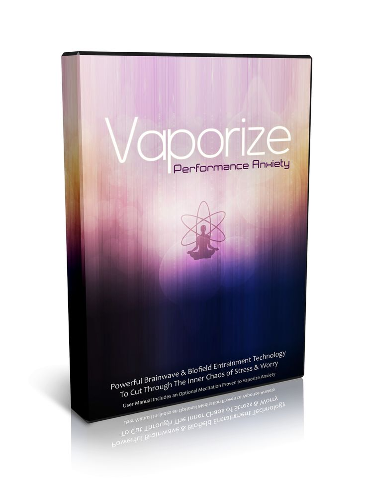Use Vaporizing Performance Anxiety when: You are worried about an upcoming performance You have to lead a meeting that requires you to be centered You are about to take a test You have a game coming up When you want to experience more flow Testimonials I love this track. Recently I had to do a public performance …