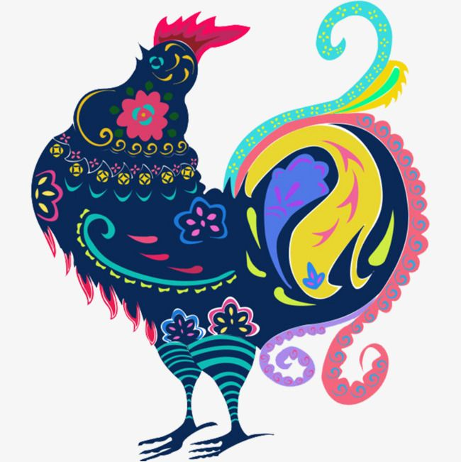 Cartoon Rooster, Year Of The Rooster, New Material, Graffiti PNG Image