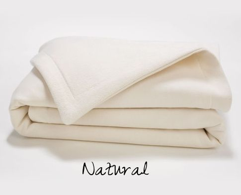 French Terry Organic Baby Blanket.