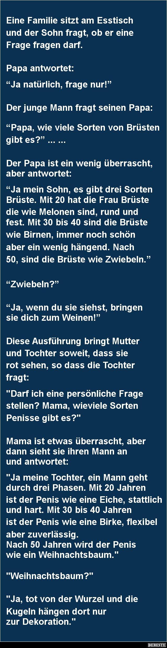 Eine Familie sitzt am Esstisch und der Sohn fragt.. | DEBESTE.de, Lustige Bilder, Sprüche, Witze und Videos