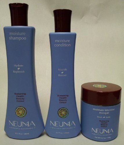 Neuma Sulfate Free Moisture Shampoo 10.1 Oz. Conditioner 8.5 Oz. And Intensive Masque 5.2 Oz. by Neuma. $62.31. Shampoo - 10.1 oz. Conditioner - 8.5 oz. Intensive Masque - 5.2 oz.