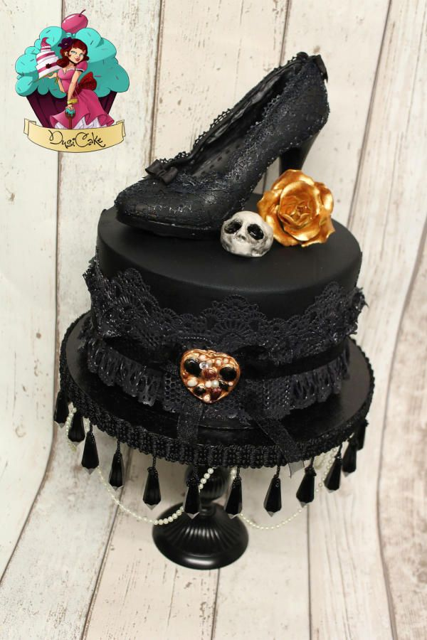 17 Best Ideas About Gothic Birthday Cakes On Pinterest