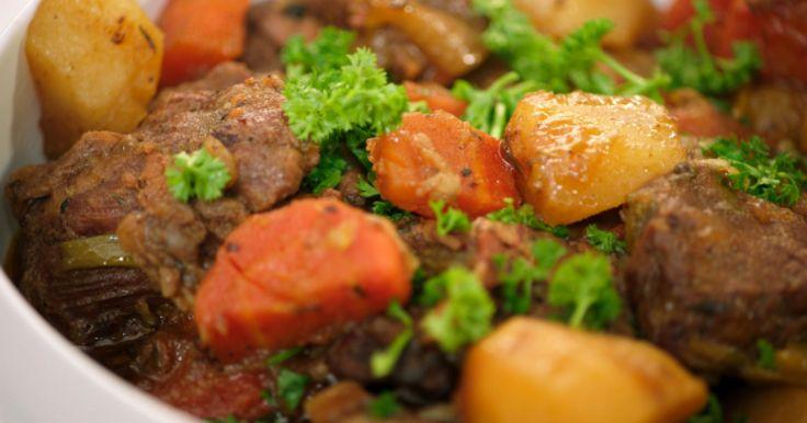 Ierse stoofpot met rundvlees en aardappelen