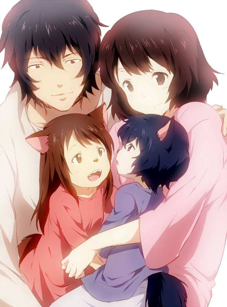 Thank you wolf children movie for rising my expectations for men even higher - now they have to be half wolf