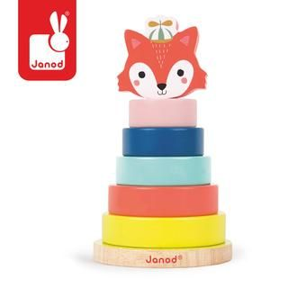 Empilable renard baby forest