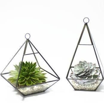 Pyramid Succulents Vase