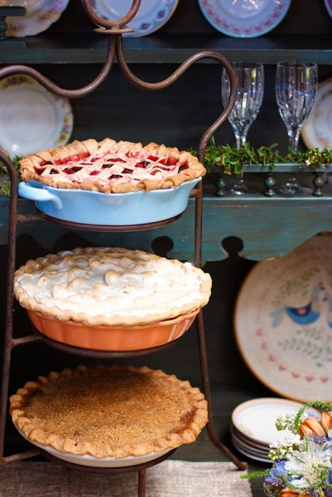 would love to have mom's strawberry pie for the reception!