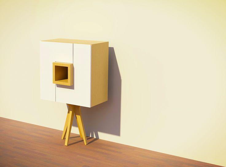 Rack Dona by AtelierStudio www.atelierstudio.cl