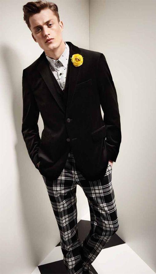 Apropos Fall Winter 2012: Men In Plaid Pants, Men Clothing, Ford Models, Moda Inamorato, Men Fashion, Menswear, Bastiaan Vans, Chic Man, Fall Winter