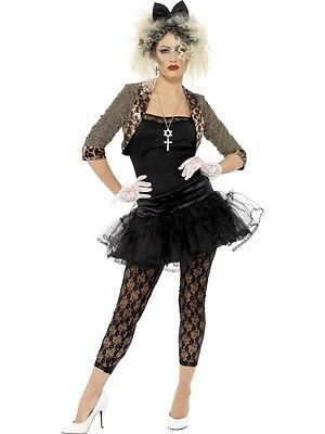 80s wild children madonna adult #womens #smiffys fancy #dress costume - 3 sizes, View more on the LINK: http://www.zeppy.io/product/gb/2/172091857833/