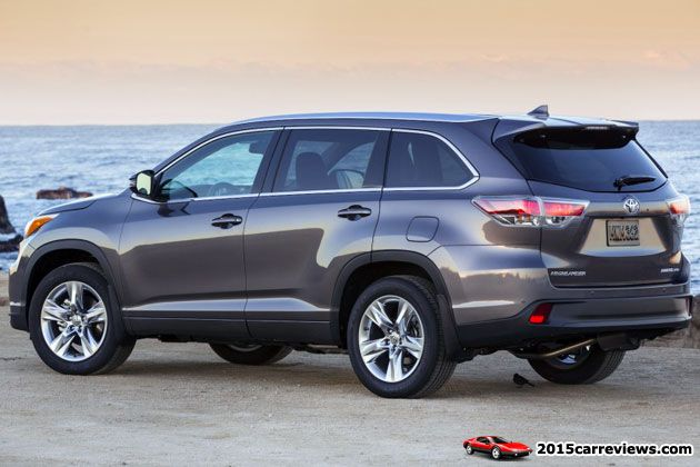 2014 Toyota Highlander rear
