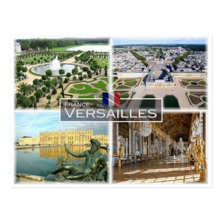 FR France Versailles Postcard in 2020 Versailles