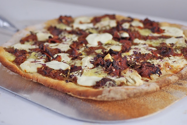 Maple, Caramelized Onion and Bacon Pie ~ I make this at least once a ...