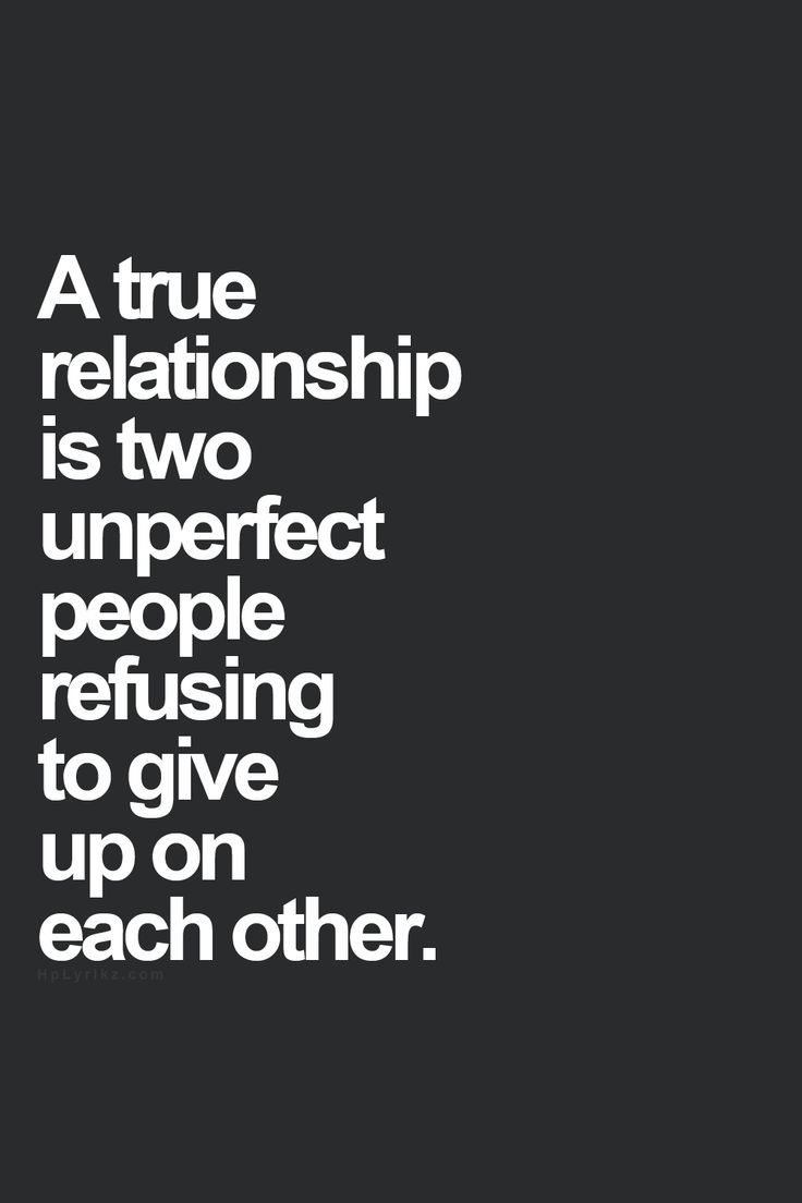 Relationship.  yes.