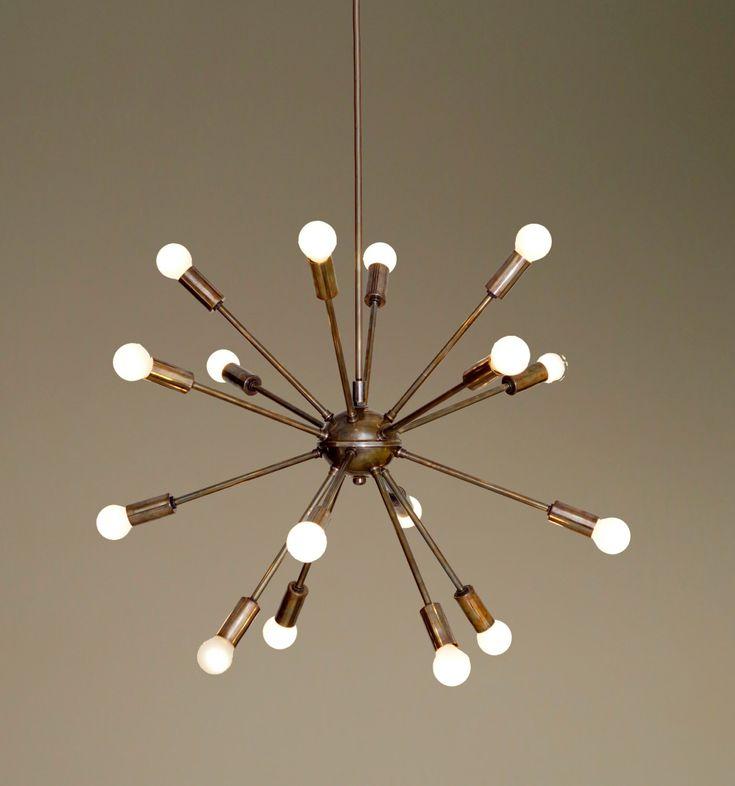 Cool Large Lamp Shades Ikea Pe Unusual Unique Lighting: 17 Best Ideas About Sputnik Chandelier On Pinterest