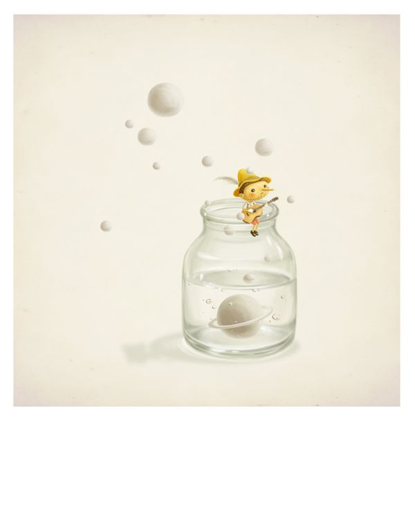 My little poems 无言诗 by Yao Xiong, via Behance