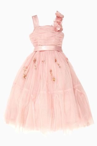 Buy Pink Occasion Dress (3-14yrs) online today at Next: United States of America